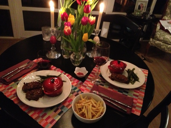 date night dinners a broad cooking