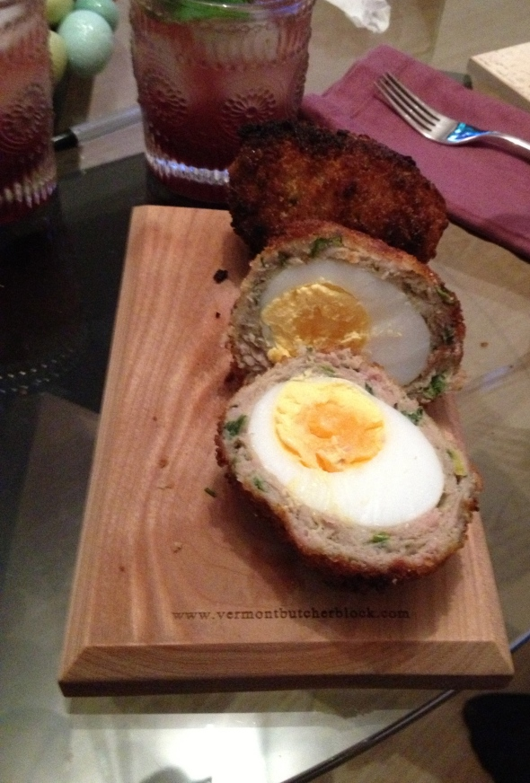 Scotch Eggs: A Broad Cooking