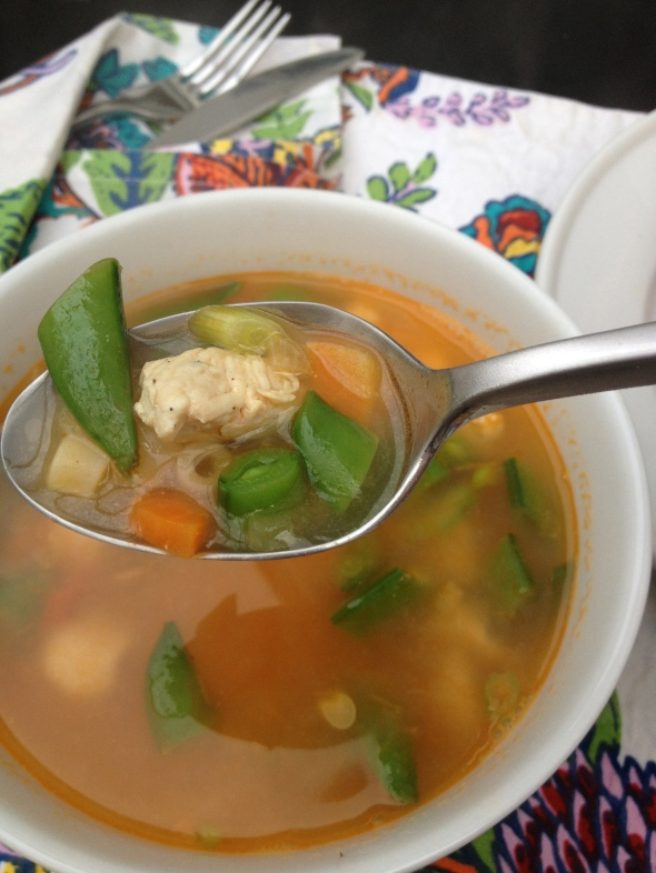 Spring Chicken Noodle Soup: A Broad Cooking
