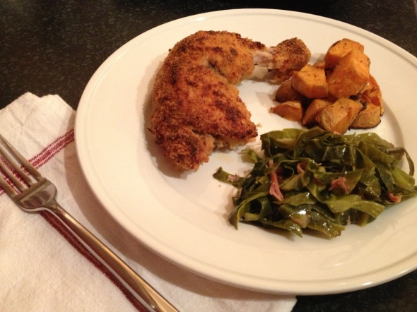 """Shake-N-Bake"" Dinner: A Broad Cooking"