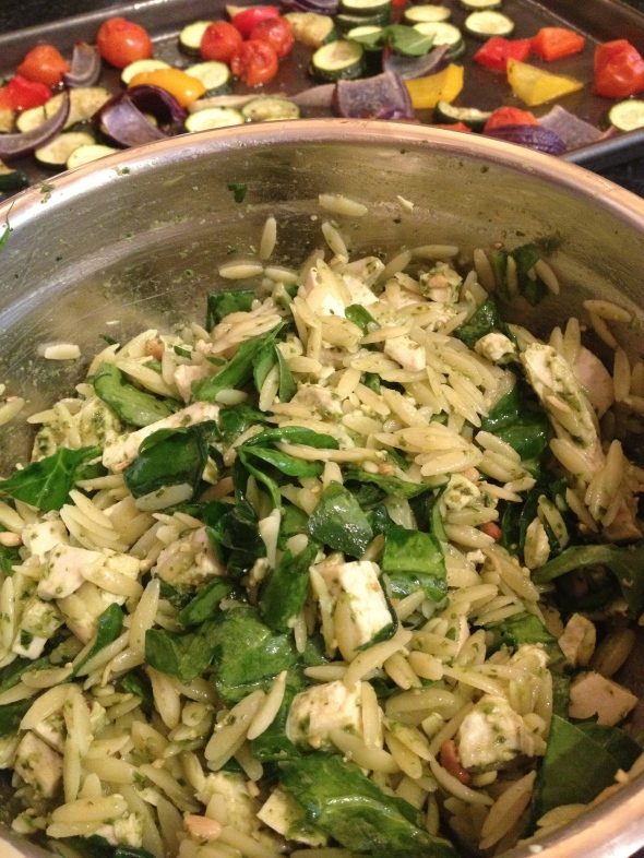 Chicken Pesto Orzo Salad: A Broad Cooking