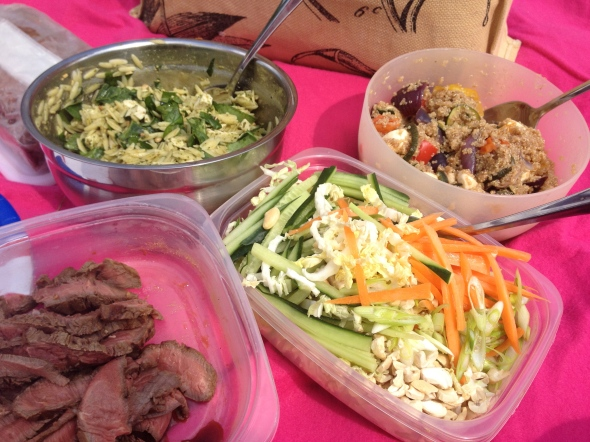 Picnic Salads: A Broad Cooking