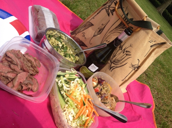 Perfect Picnic Salads @ Regent's Park: A Broad Cooking