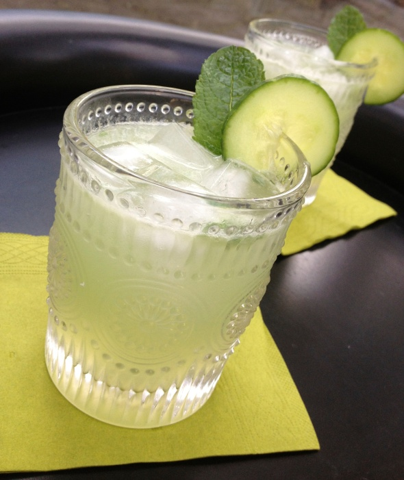 Cucumber Mint Gimlet: A Broad Cooking