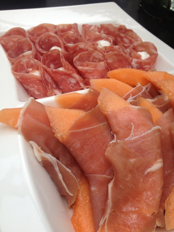 Prosciutto Wrapped Melon Antipasti: A Broad Cooking