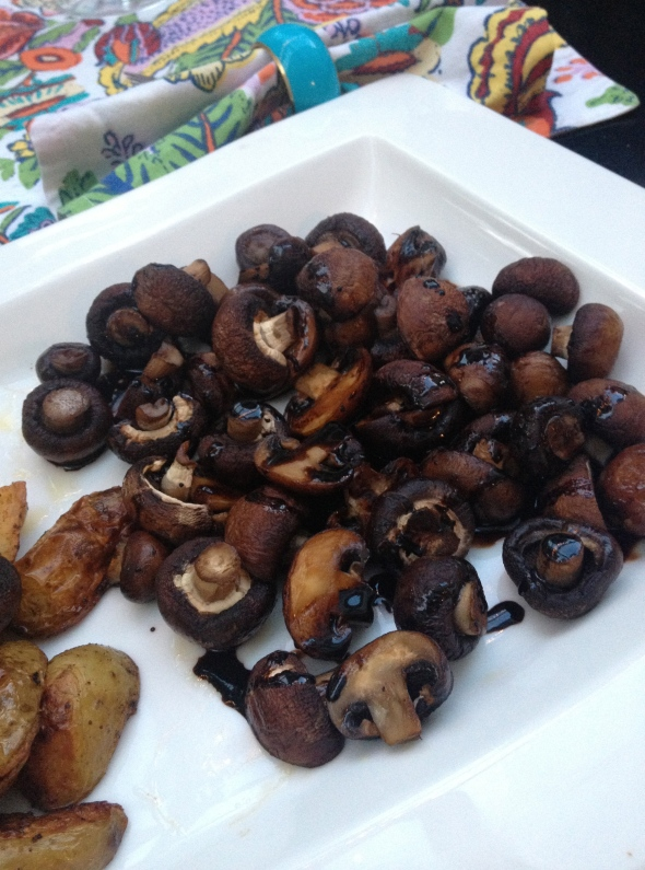 Balsamic Roast Mushrooms: A Broad Cooking