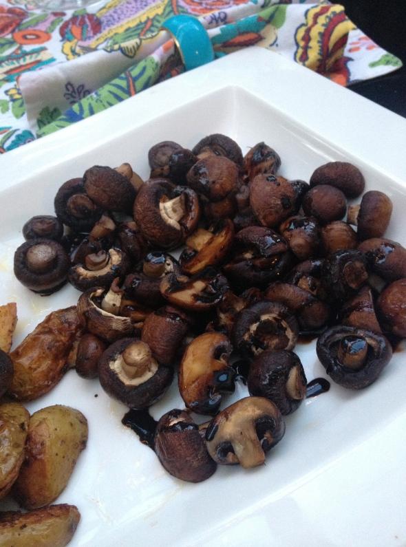 Balsamic Roast Mushrooms: A Broad Cooking