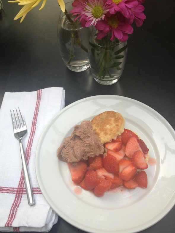 Strawberry Shortcake with Nutella Mousse: A Broad Cooking