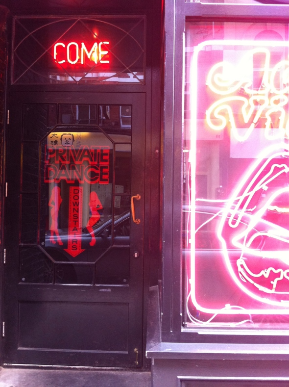 Entrance to La Bodega Negra, Soho