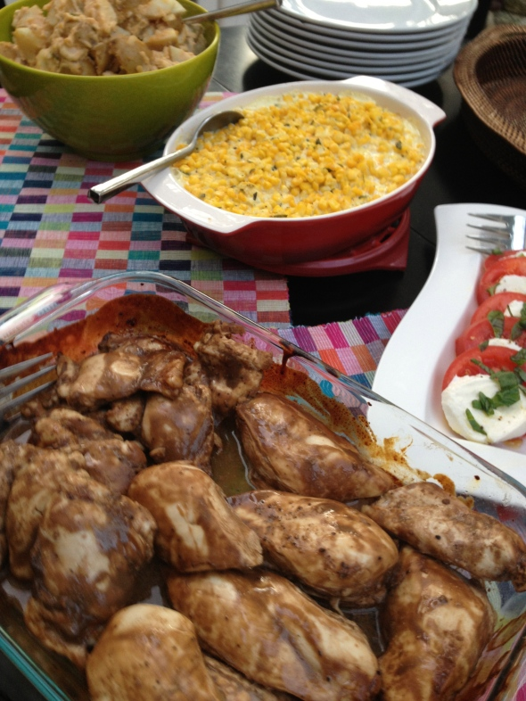 Summer BBQ Menu: A Broad Cooking