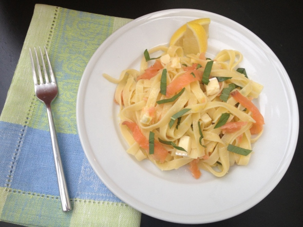 Summer Smoked Salmon Pasta: A Broad Cooking