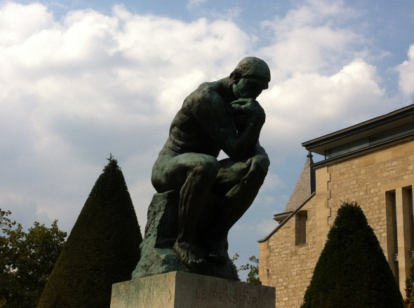 The Thinker, Rodin Museum Paris: A Broad Cooking
