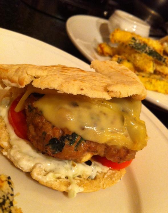 Greek Turkey Burgers & Zucchini Fries: A Broad Cooking