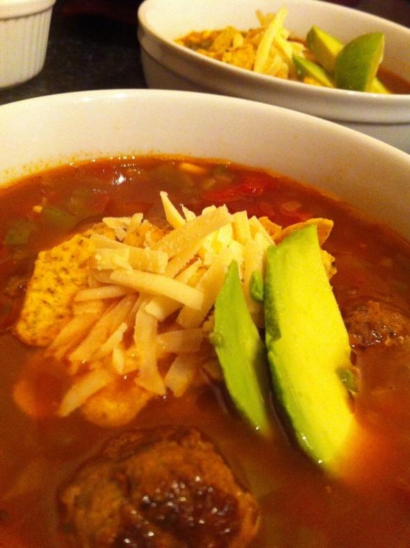 Taco Tortilla Soup: A Broad Cooking