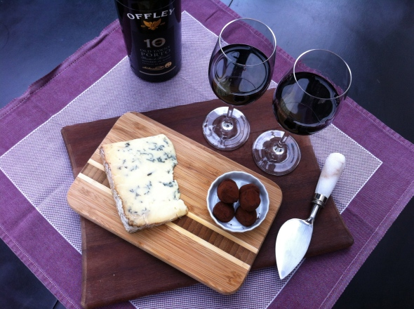 Stilton, Truffles, and Port - A perfect end to an elegant meal: A Broad Cooking