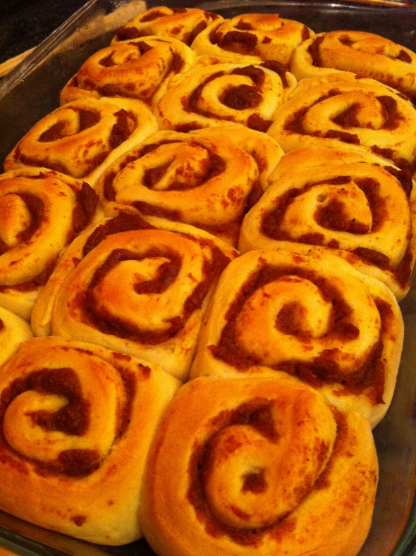 Pumpkin Butter Rolls: A Broad Cooking