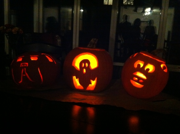Pumpkin Carving- Ghosts & Gertie: A Broad Cooking