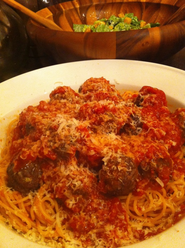 Spaghetti and Lasagna Meatballs - A Perfect Crowd Pleasing Sunday Meal: A Broad Cooking
