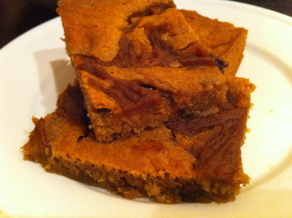 Pumpkin Butter Blondies: A Broad Cooking
