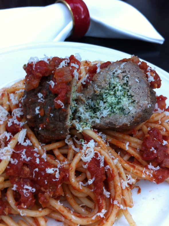 Spaghetti and Lasagna Meatballs: A Broad Cooking