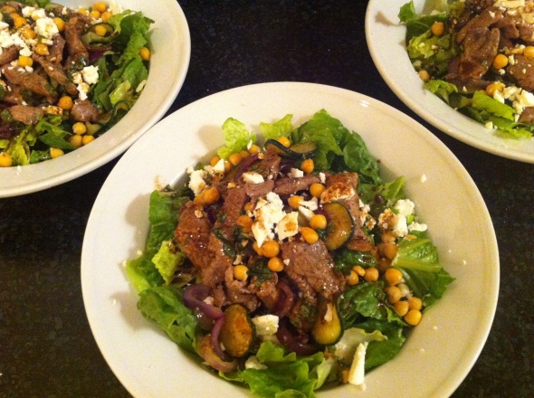 Mediterranean Lamb Salad: A Broad Cooking