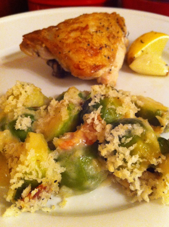Brussels Sprout Gratin: A Broad Cooking
