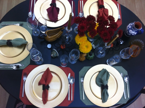 Thanksgiving Table: A Broad Cooking