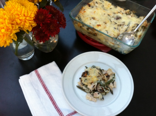 Leftover Turkey & Green Bean Casserole: A Broad Cooking