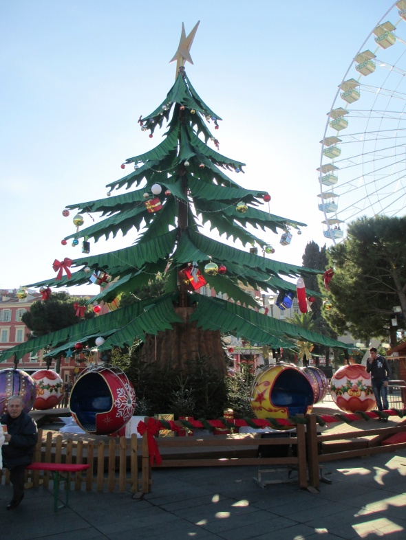 Christmas Market in Nice: A Broad Cooking