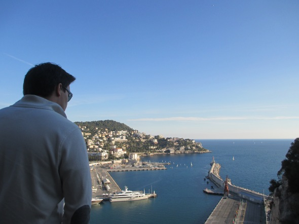 The Port in Nice, France: A Broad Cooking