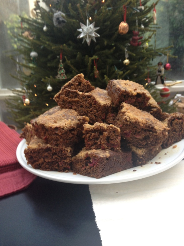 Cranberry Gingerbread Breakfast Cake: A Broad Cooking