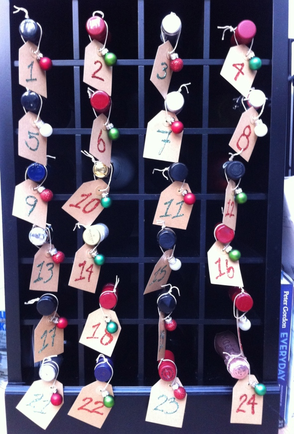Wine Advent Calendar - 2nd year running! A Broad Cooking