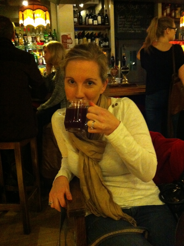 Mulled Wine @ Alwyne Castle: A Broad Cooking