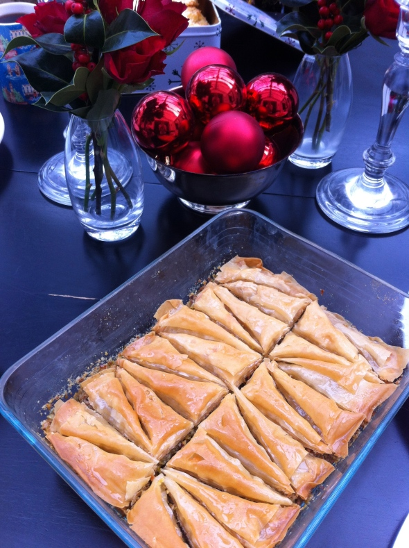 Michael Symon's Baklava: A Broad Cooking
