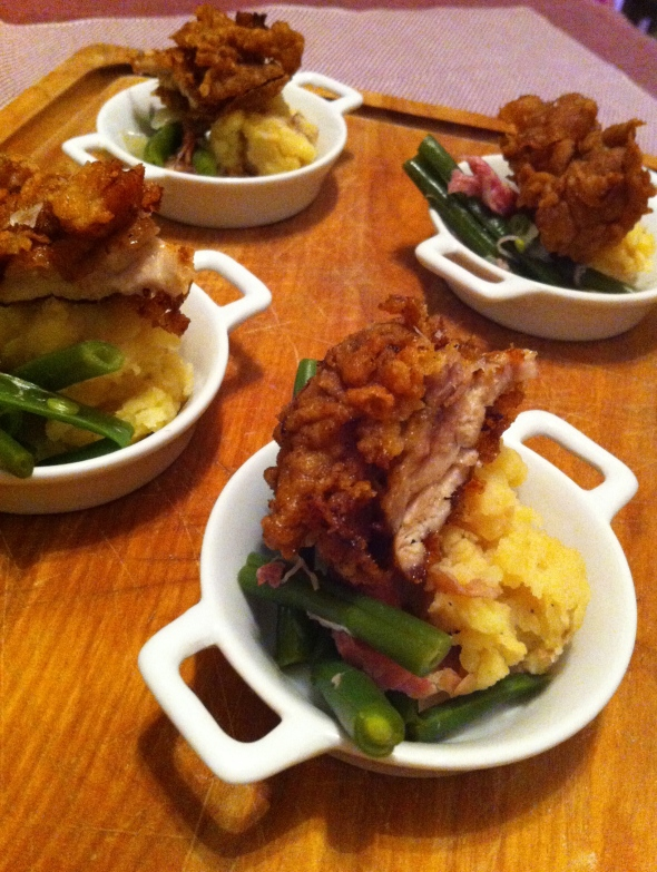 Buttermilk Fried Chicken & Soulful Southern Green Beans: A Broad Cooking