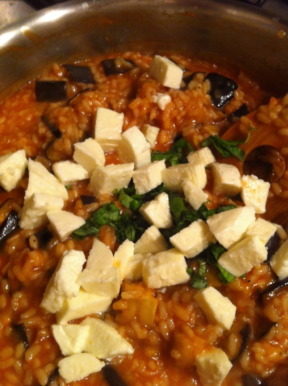 Eggplant Parmesan Risotto: A Broad Cooking