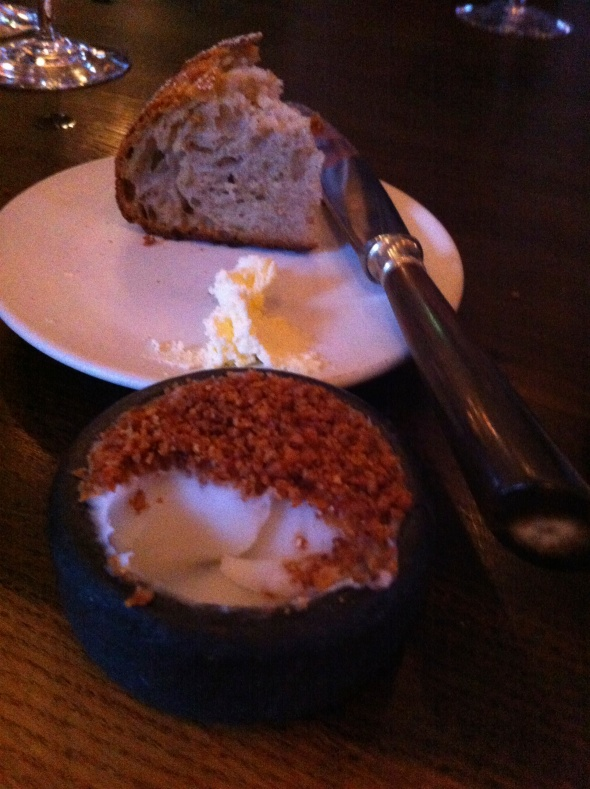 Not your everyday bread & butter - pork fat & crackling @ Noma: A Broad Cooking