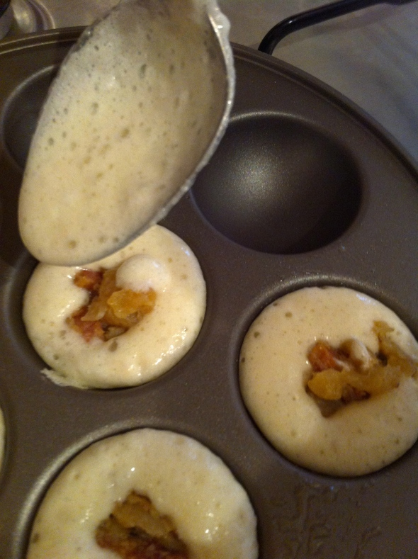 Savory Applesauce Filled Aebleskivers: A Broad Cooking