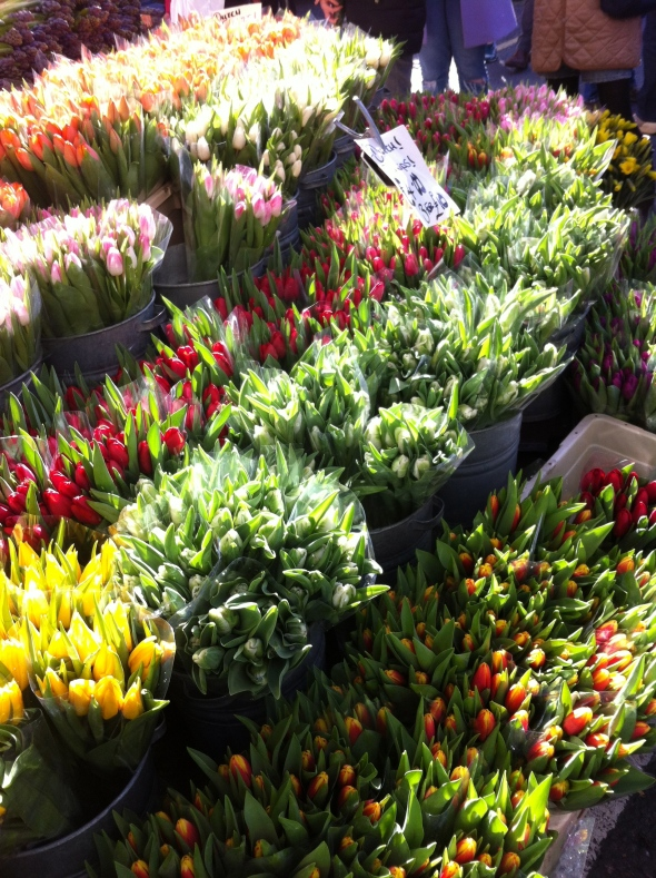Columbia Road Flower Market: A Broad Cooking